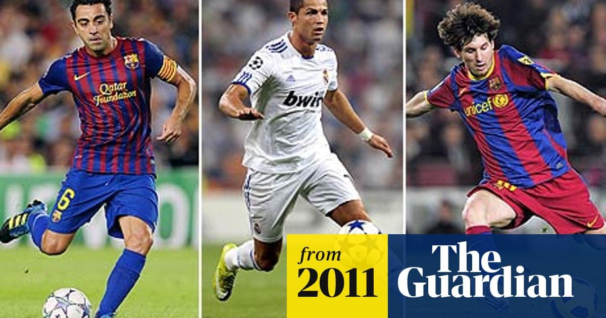 Lionel Messi Xavi And Cristiano Ronaldo Up For Fifa Ballon D Or Ballon D Or The Guardian