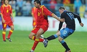 Montenegro v England - EURO 2012 Qualifier