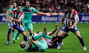 Andrés Iniesta Barcelona Sporting Gijon