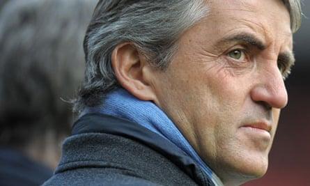 Manchester City's Italian manager Robert