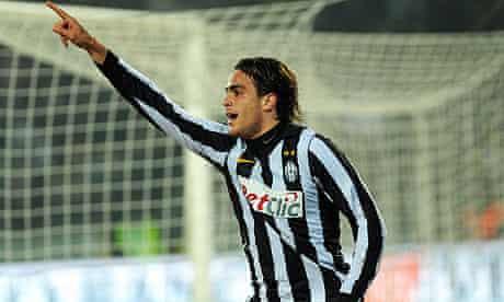 Juventus' Alessandro Matri