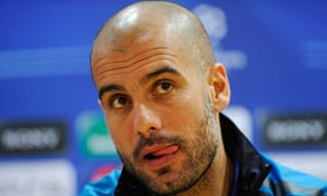 Pep Guardiola, the Barcelona manager