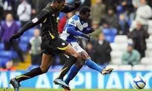 Obafemi Martins scores for Birmingham
