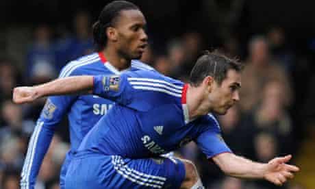 Frank Lampard Didier Drogba Chelsea