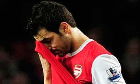 Arsenal's captain Cesc Fabregas
