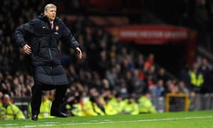 Arsene Wenger Arsenal Manchester United FA Cup