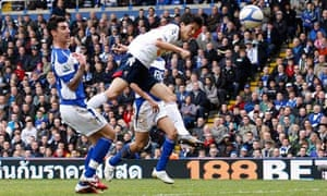 Bolton's Lee Chung-Yong heads a late winner against Birmingham City in the FA Cup sixth round.