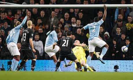 Yaya Touré Manchester City Aston Villa