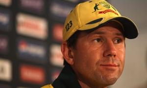 Ricky Ponting Australia India World Cup