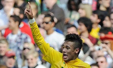 Neymar Brazil Scotland