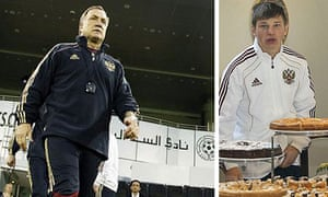 Dick Advocaat and Andrey Arshavin