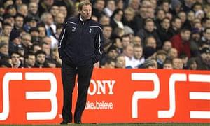 Harry Redknapp Tottenham Hotspur Milan