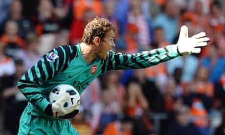 Jens Lehmann Arsenal Blackpool