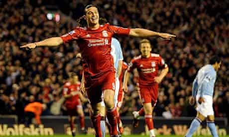 Andy Carroll Liverpool Manchester City