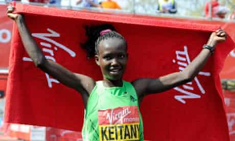 Kenya's Mary Keitany