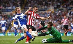 Birmingham City's Sebastian Larsson