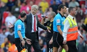 Arsene Wenger Arsenal v Liverpool
