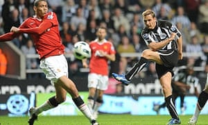 Peter Lovenkrands Newcastle United Manchester
