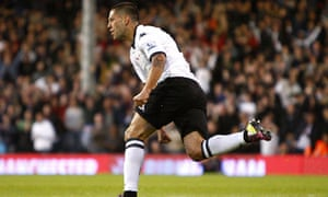 Clint Dempsey Fulham v Bolton Wanderers