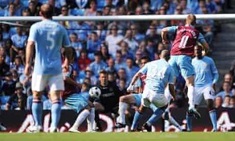 Nigel De Jong Manchester City West Ham