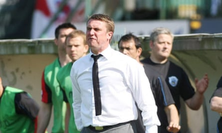 Huddersfield Town manager Lee Clark