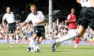 Steve Sidwell Fulham v Arsenal