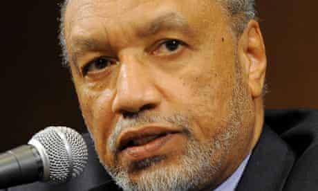 Mohamed bin Hammam, president of  Asian football confederation