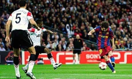 Lionel Messi Barcelona Manchester United