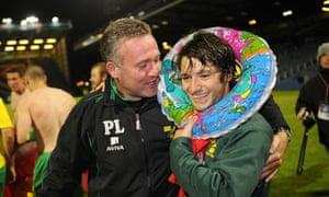Norwich City Paul Lambert promotion