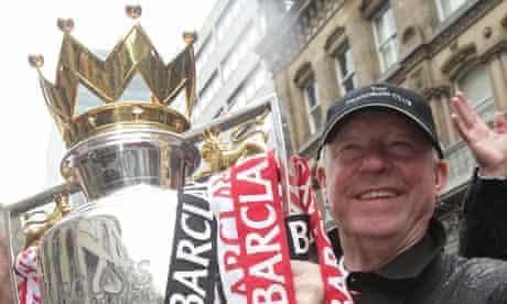 Sir Alex Ferguson on Manchester United's Premier League victory parade