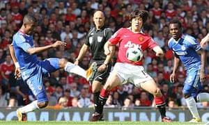 Ji-sung Park Salomon Kalou Manchester United Chelsea