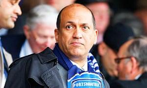 Balram Chainrai has sold Portsmouth to Vladimir Antonov's Convers Sports Initiatives