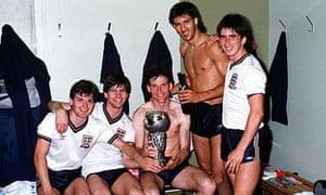 England's 1984 European Under-21 Championship winners