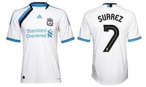 3c8f9888a Liverpool FC s third kit for the 2011-12 season incorporates blue – or