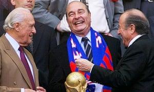 havelange, chirac and blatter