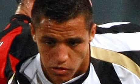 Alexis Sanchez Udinese Manchester City