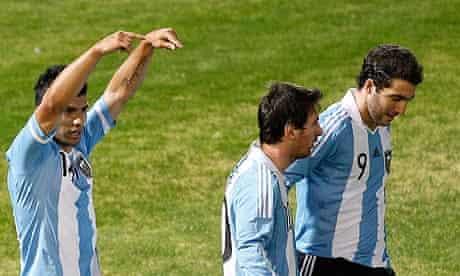 Argentina's Sergio Agüero lauds Lionel Messi,