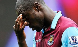 West Ham United's Carlton Cole thought over a move to Stoke City but has rejected personal terms