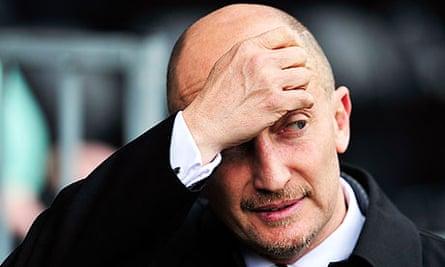 The Premier League fined Blackpool's Ian Holloway for fielding a weakened team against Aston Villa