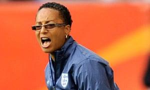 Hope Powell, England women's team coach