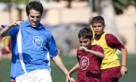 Cesc Fabregas summer break