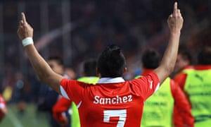 Chile's Alexis Sánchez