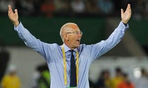 Brian Eastick, England Under-20s coach