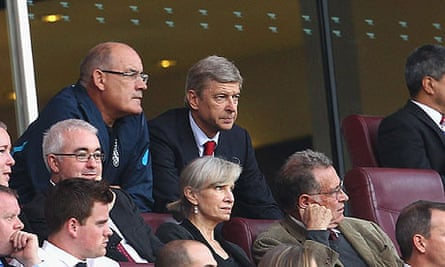 Arsène Wenger and Arsenal first-team coach Boro Primorac