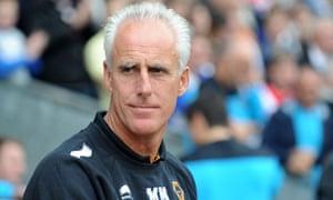 Wolverhampton Wanderers manager Mick McCarthy