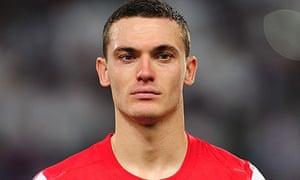 Arsenal's Belgian defender Thomas Vermaelen