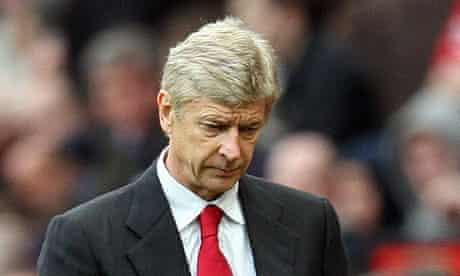 Arsène Wenger Arsenal Manchester United