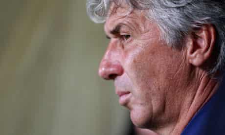 Inter coach Giampiero Gasperini