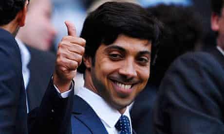 Manchester City owner, Sheikh Mansour