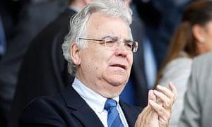 The Everton chairman, Bill Kenwright